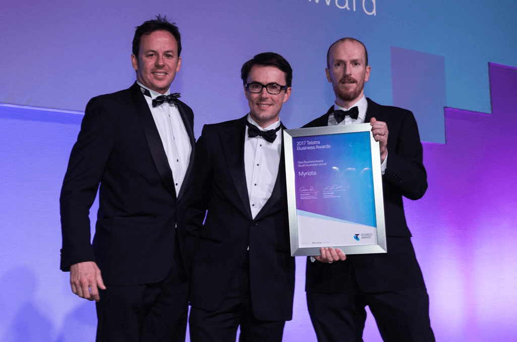 Myriota wins best New Business at SA Telstra Business Awards