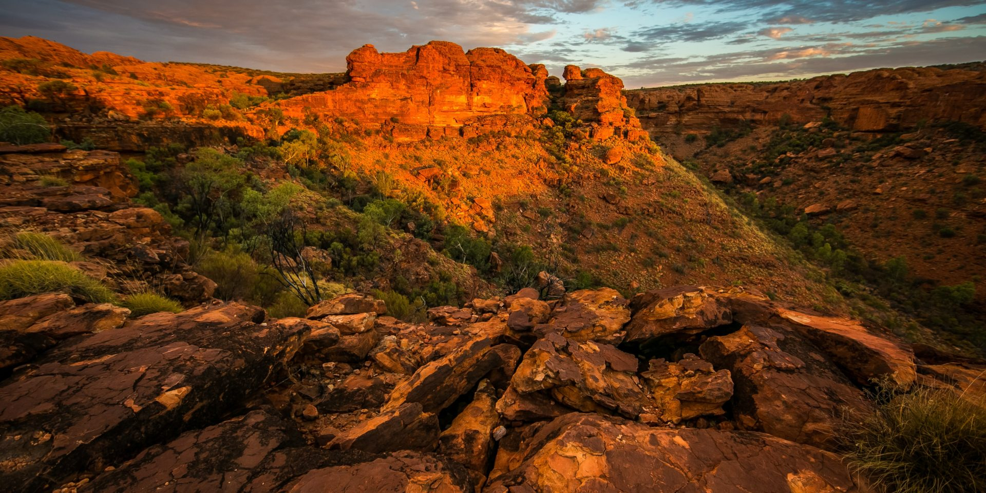 Image of Kings Canyon in Australia